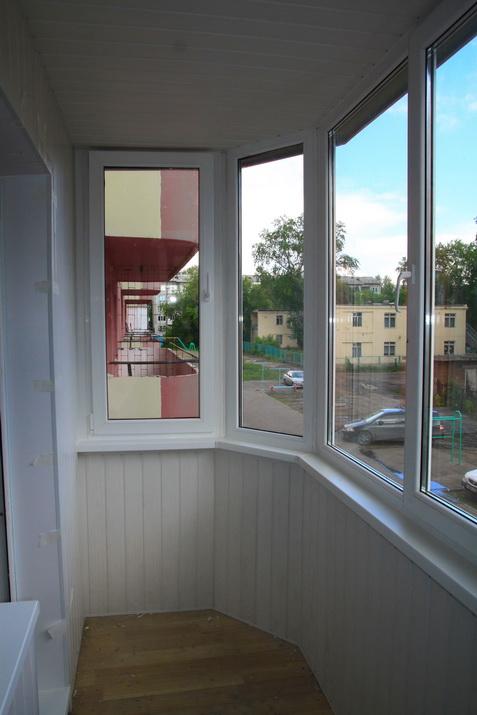 Ремонт балкона в омске